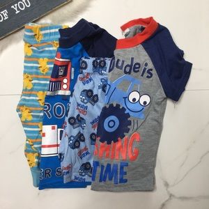 🎉Bundle baby boy pajama set and bottoms